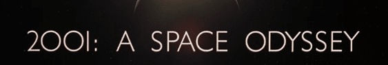 2001 a space odyssey and font kerning microsoft office 18327 - 2001: A Space Odyssey and font kerning