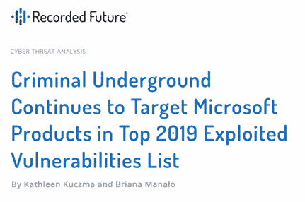 2019s top software vulnerabilities featuring microsoft office 34519 - 2019's top software vulnerabilities featuring Microsoft Office