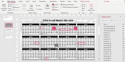2020 calendars in powerpoint microsoft office 33688 - 2020 Calendars in PowerPoint