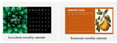 2020 calendars in powerpoint microsoft office 33689 - 2021 Calendars in your PowerPoint slides