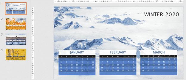 2020 calendars in powerpoint microsoft office 33696 - 2020 Calendars in PowerPoint