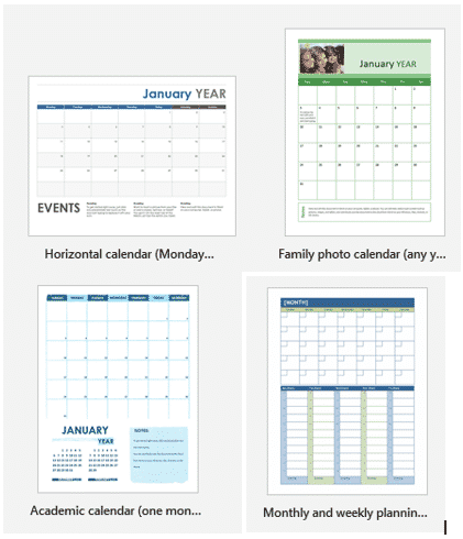 2020 calendars in word microsoft word 33606 - 2020 calendars in Word and the tricks to make them special