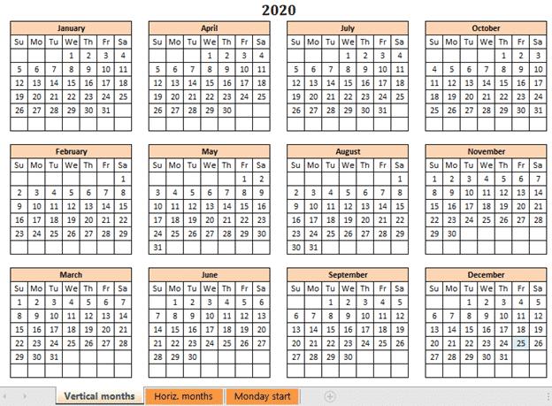 a better excel calendar creator for office watch readers microsoft office 33985 - A better Excel Calendar Creator for Office Watch readers