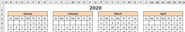 a better excel calendar creator for office watch readers microsoft office 33986 - A better Excel Calendar Creator for Office Watch readers