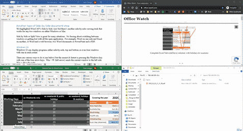 a better side by side document view for windows and mac microsoft office 35325 - A better Side-by-Side document view for Windows and Mac