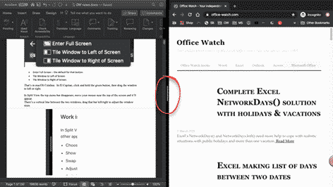 a better side by side document view for windows and mac microsoft office 35326 - A better Side-by-Side document view for Windows and Mac