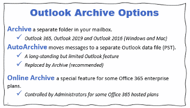 about outlook archive online archive and autoarchive microsoft outlook 34854 - About Outlook Archive, Online Archive and AutoArchive