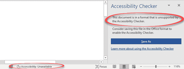 accessibility checker and document conversion in office 365 microsoft office 31703 - Accessibility Checker and document conversion in Office 365