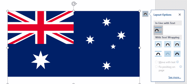 add the australian flag into word excel or powerpoint microsoft office 34358 - Add the Australian Flag into Word, Excel or PowerPoint