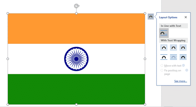 add the indian flag into word excel or powerpoint 35167 - Add the Indian Flag into Word, Excel or PowerPoint