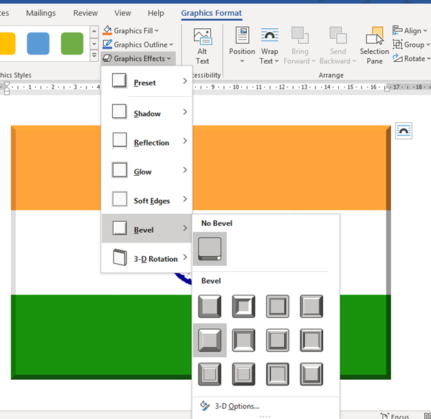 add the indian flag into word excel or powerpoint 35171 - Add the Indian Flag into Word, Excel or PowerPoint