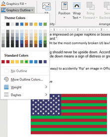 add the us flag into word excel or powerpoint microsoft office 33958 - Add the US Flag into Word, Excel or PowerPoint