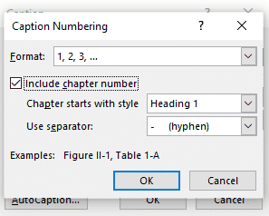 adding captions in word microsoft word 27453 - Adding Captions in Word