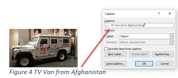 adding captions in word microsoft word 27455 - Adding Captions in Word