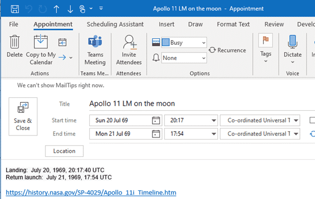 apollo 11 events to download and add to a calendar microsoft outlook 29592 - Apollo 11 events to download and add to a calendar