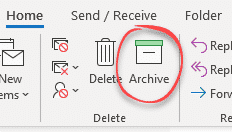 archive in outlook 365 and outlook 2016 2019 for windows microsoft outlook 28334 - Archive in Outlook 365 and Outlook 2016/2019 for Windows