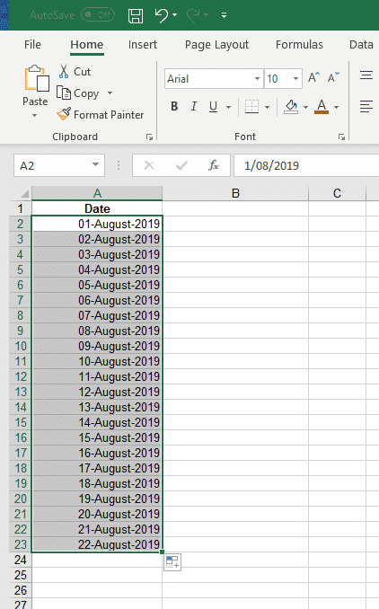auto fill magic in excel microsoft excel 31078 - Auto Fill hidden tricks in Excel