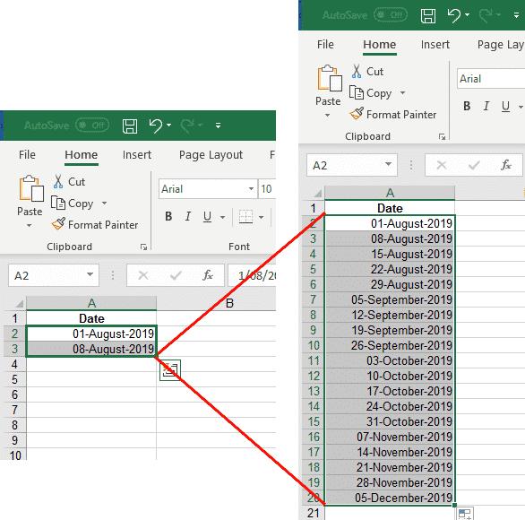 auto fill magic in excel microsoft excel 31079 - Auto Fill hidden tricks in Excel