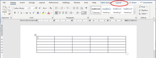 autofit table columns in word 37173 - AutoFit Table Columns in Word