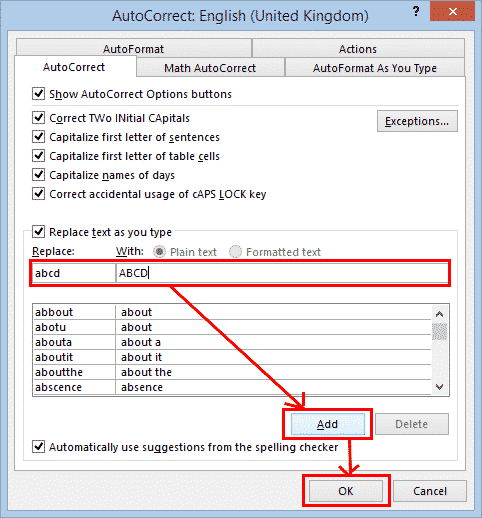automatic capitalization fixes in word microsoft word 27275 - Automatic Capitalization fixes in Word