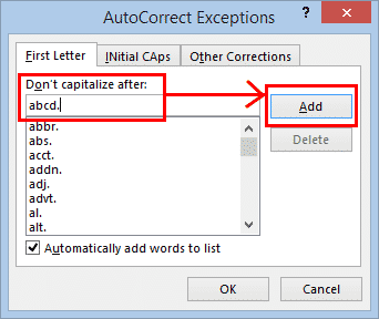 automatic capitalization fixes in word microsoft word 27276 - Automatic Capitalization fixes in Word