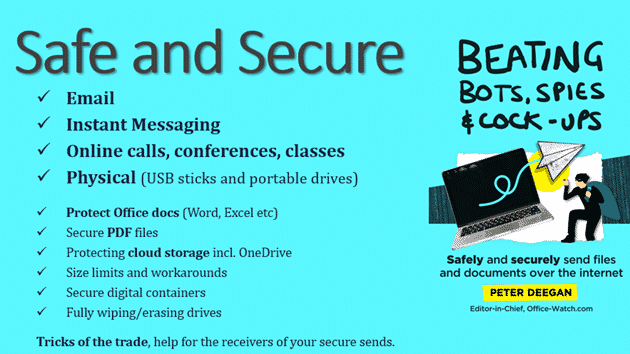 beating bots spies cock ups safely securely send files and documents 36117 - Beating Bots, Spies & Cock-ups - Safely & securely send files and documents