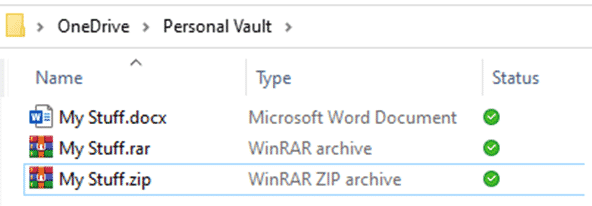 beating the personal vault limit of 3 files for free onedrive accounts microsoft office 32688 - Beating the Personal Vault limit of 3 files for free OneDrive accounts