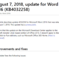 big-word-2016-update-in-the-august-2018-updates-for-office-microsoft-office-23088