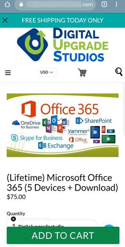 bogus cheap office 365 ads on facebook microsoft office 25672 - Bogus cheap Office 365 ads on Facebook