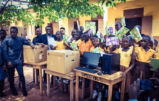 Busy few weeks for 'Blackboard Teacher' from Ghana