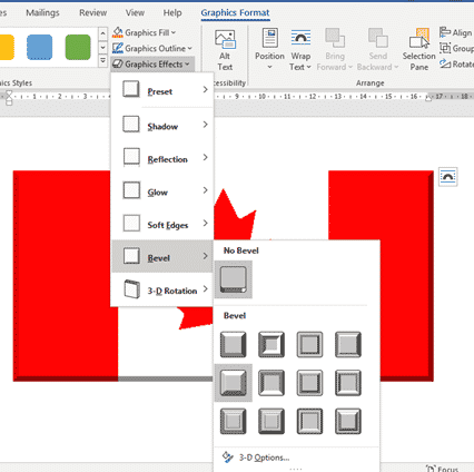 canadian flag into word excel or powerpoint microsoft office 34481 - Canadian Flag into Word, Excel or PowerPoint