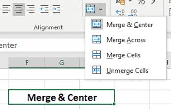 center across selection vs merge center in excel microsoft office 30355 - Center Across Selection vs Merge & Center in Excel