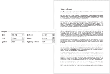change margins in word microsoft word 33079 - Change Margins in Word