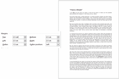 change margins in word microsoft word 33080 - Change Margins in Word