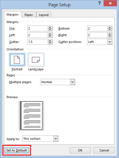 change margins in word microsoft word 33088 - Change Margins in Word