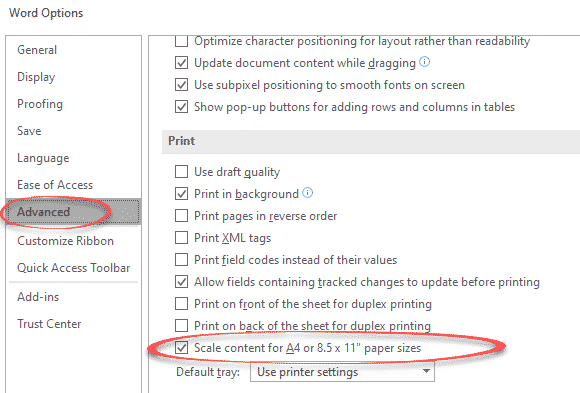 change the paper size in word 36504 - Change the Paper Size in Word
