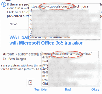 check your email links are real not phishing but why microsoft makes it easier for criminals microsoft outlook 28626 - Check your email links are real not phishing but why Microsoft makes it easier for criminals?