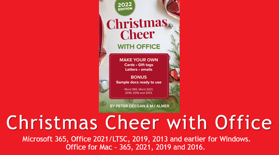 christmas cheer with microsoft office 24717 - Christmas Cheer with Microsoft Office