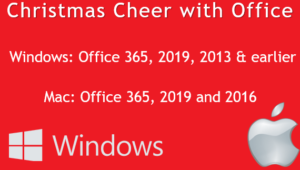 christmas cheer with microsoft office 24718 300x170 - Christmas Cheer with Microsoft Office