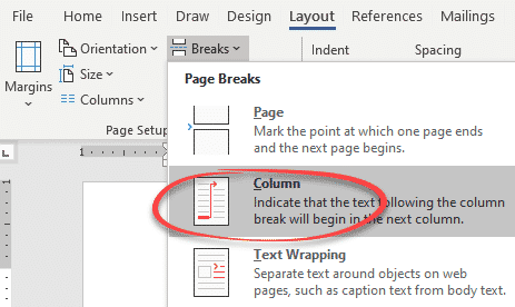 color the column dividing line in word microsoft word 28888 - Color the Column dividing line in Word