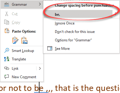 comma ellipsis in word and office microsoft office 31648 - Comma Ellipsis in Word and Office
