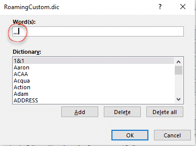 comma ellipsis in word and office microsoft office 31650 - Comma Ellipsis in Word and Office