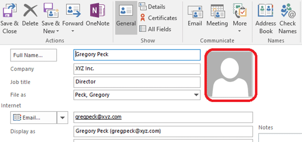 contact pictures in outlook 14877 - Contact pictures in Outlook