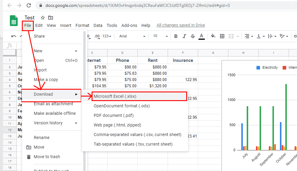 converting google sheets to excel 36168 - Converting Google Sheets to Excel