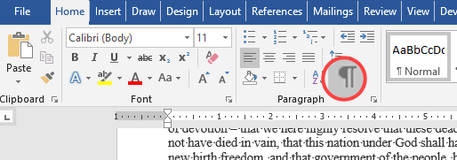 delete an empty or blank page in microsoft word 18461 - Delete an empty or blank page in Microsoft Word