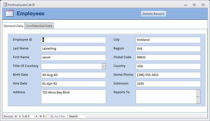delete records in linked tables 9984 - Delete Records in Linked Tables
