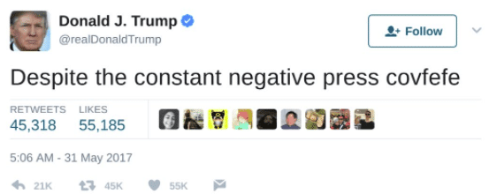 did covfefe make it into microsoft word 16145 - Did Covfefe make it into Microsoft Word?