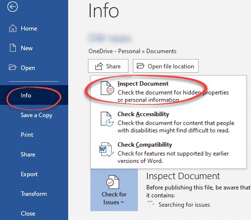 does document name reveal your secrets microsoft word 28810 - Does a document name reveal your secrets?