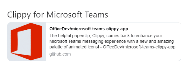 dont panic clippy isnt coming back microsoft teams 27018 - Don't panic - Clippy isn't coming back