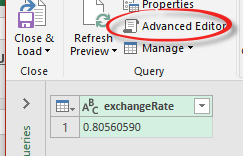 excel getting a single value from a large data feed 10919 - Excel; getting a single value from a large data feed